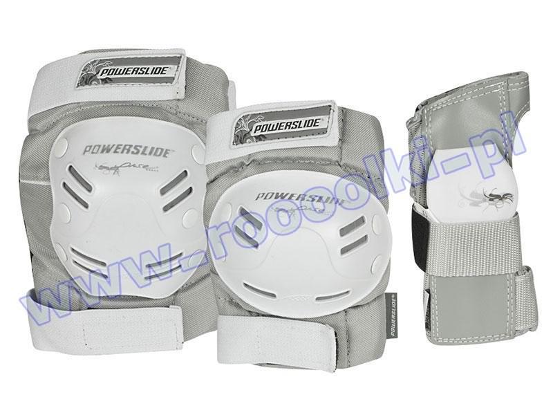 Zestaw ochraniaczy Powerslide Standard Pure 2015 przeceny