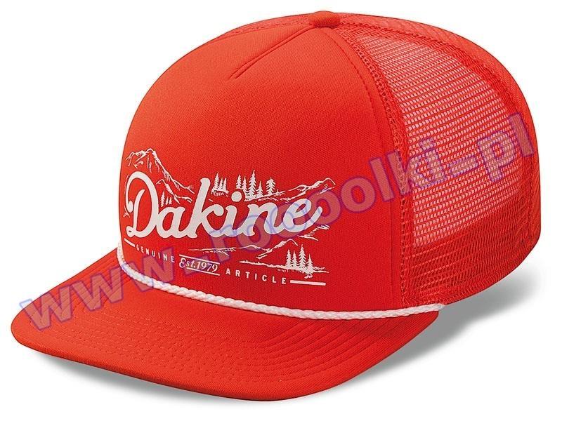 Czapka z daszkiem Dakine Mountain Trucker Orange 2015 przeceny