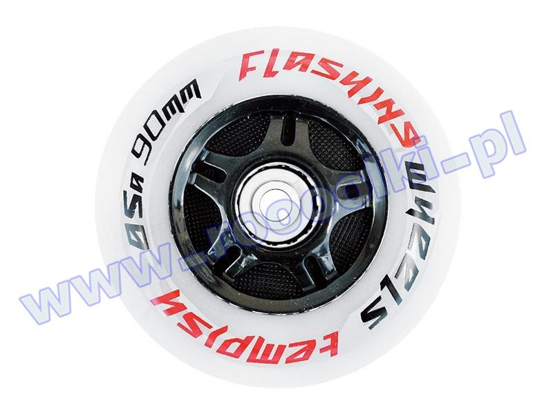 Zestaw 2 kółek Tempish Flashing Wheels 80mm / 85A 2016 przeceny