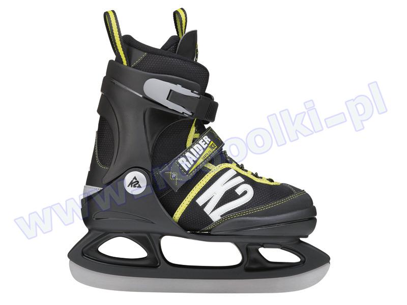 Łyżwy K2 Jr Raider Ice 2017 przeceny
