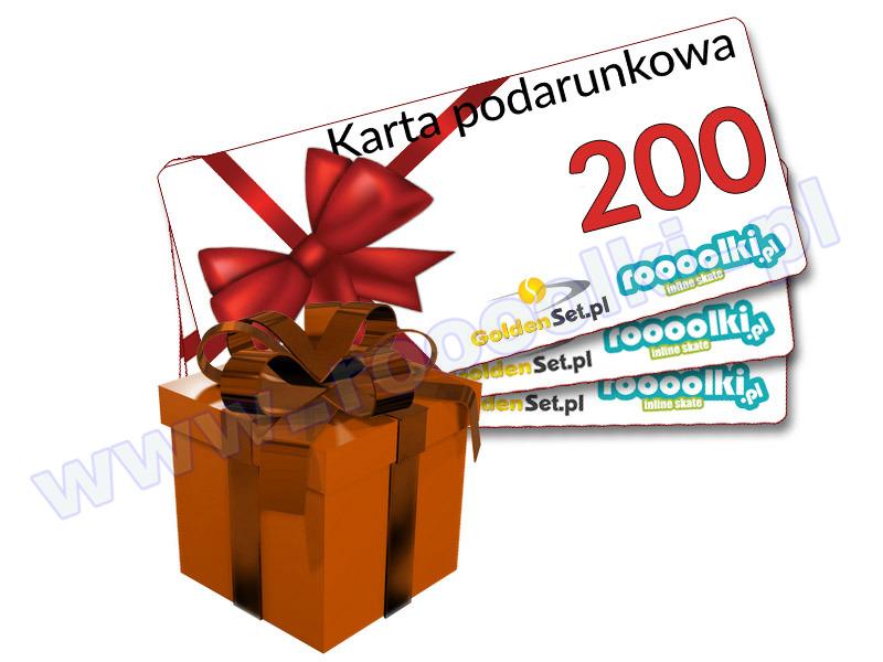 Karta Podarunkowa Bon Voucher 200 przeceny