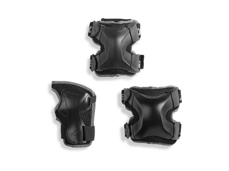 Zestaw ochraniaczy Rollerblade X-Gear 3 Pack Black 2018 przeceny