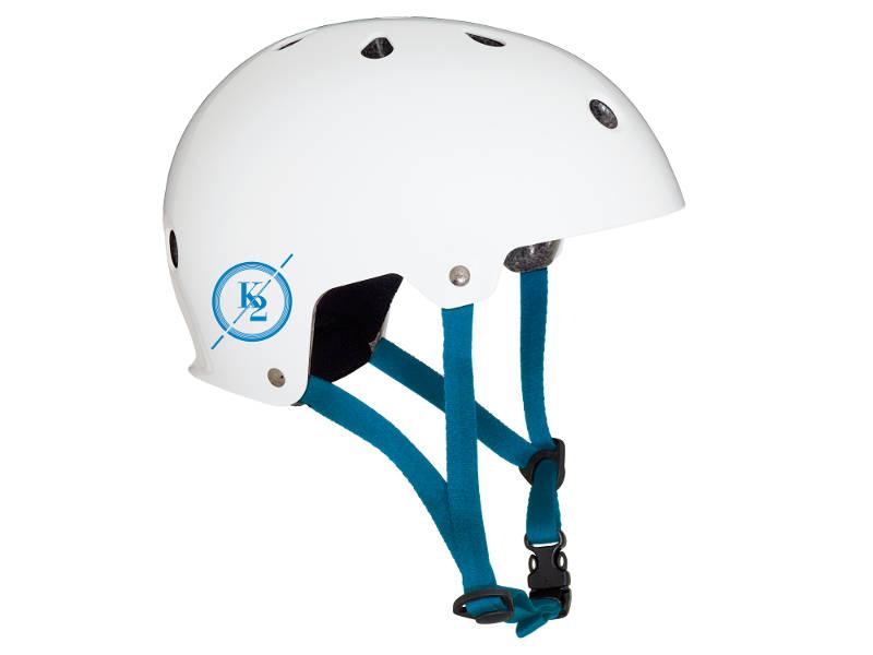Kask K2 Varsity White Blue 2018 przeceny