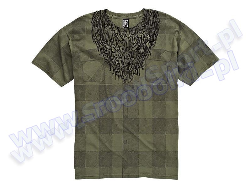 Koszulka Burton Lumberjack Military Green 2012 przeceny