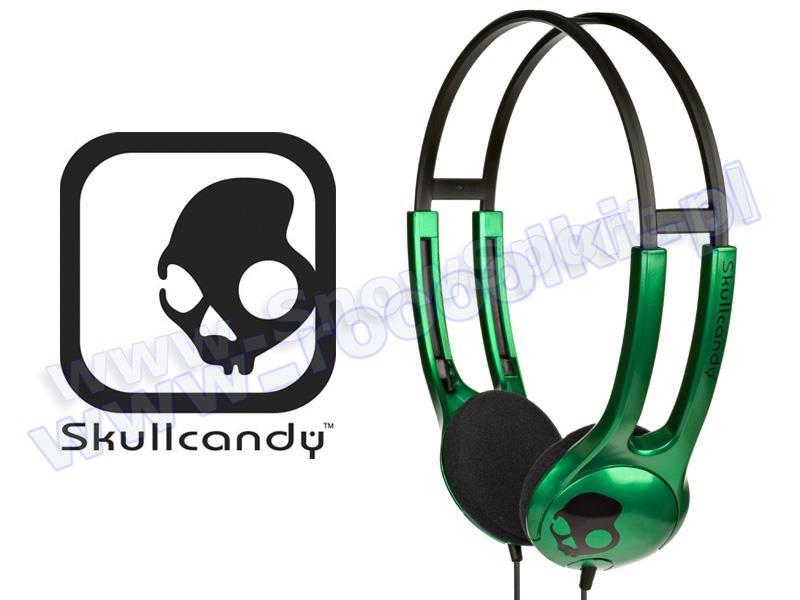 Słuchawki SkullCandy ICON SC Green S5ICCZ-036 przeceny