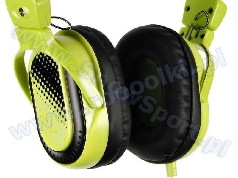 Słuchawki SkullCandy Agent Black/Green S6AGBZ-BG przeceny