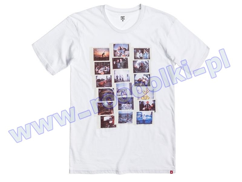 Koszulka DC MEMENTO by WES KREMER White przeceny