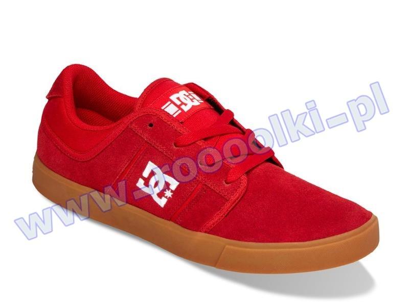 Buty DC RD Grand (RED) + Naklejki DC gratis przeceny